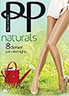 Pretty Polly Naturals 8 Denier Strumpfhose
